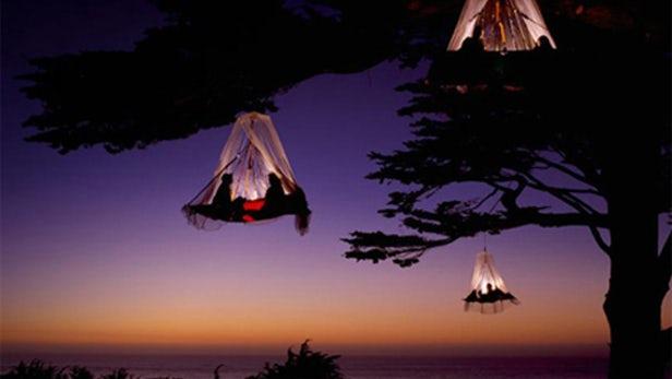 Dibandrol 4 Jutaan, Hotel di Jerman Menawarkan Sensasi Bermalam Bergelantung di Atas Pohon