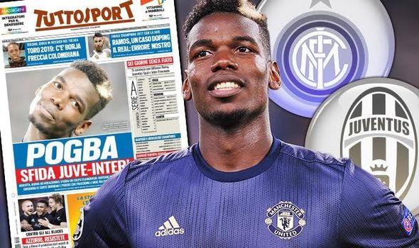 Inter Milan Siap Salib Juventus Dekati Pogba