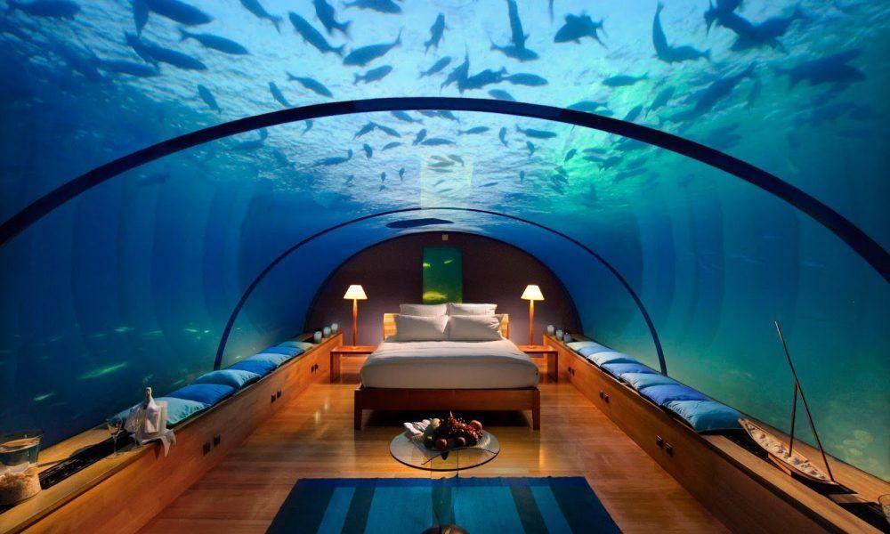 Ckckckck...!!! Sensasi Bermalam di Bawah Laut, Lover's Deep Patok Tarif 4 Milyar / malam