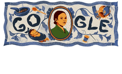 Dijadikan Doodle Google Hari Ini , Siapakah Sosok Wanita Tersebut ??