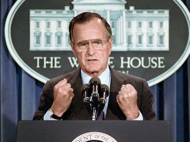 Presiden AS ke-41 George Bush Senior Meninggal Dunia