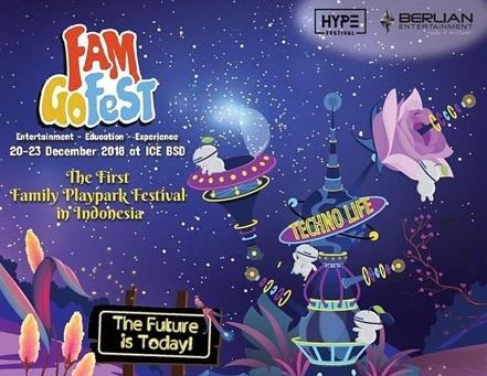 Seru-seruan Bareng Keluarga di Fam Go Fest 2018 ICE BSD
