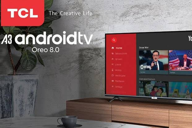 PROMO Spesial Line-up Smart Android TV TCL di Grand Year and Sale Lazada 12.12