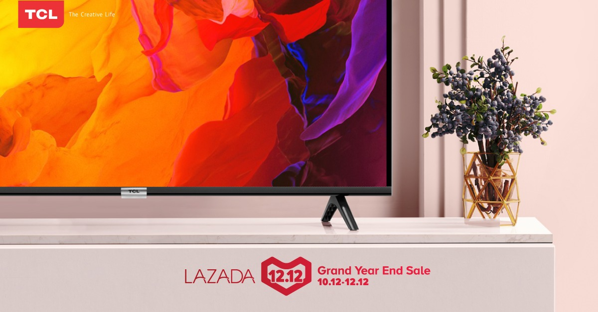 Smart Android TV TCL Diskon Abis-abisan di Great Year and Sale 12.12 Lazada