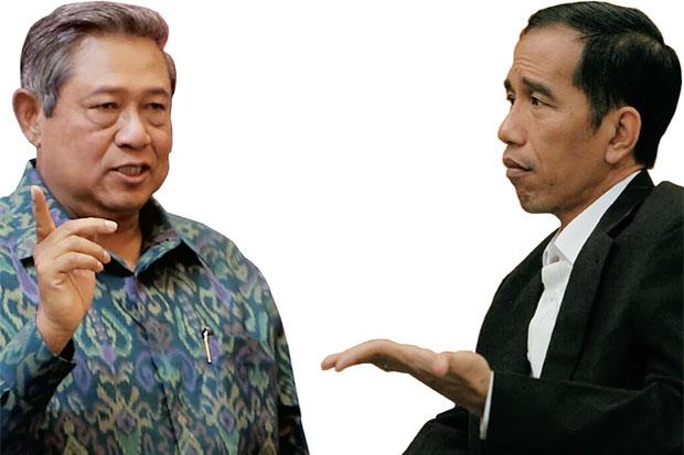 Terkait Perusakan Baliho, Ada Nama Jokowi di Cuitan SBY