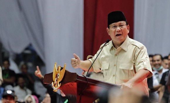 Kesal Dengan Wartawan, Prabowo : Mungkin Mata Mereka di Dengkul !!