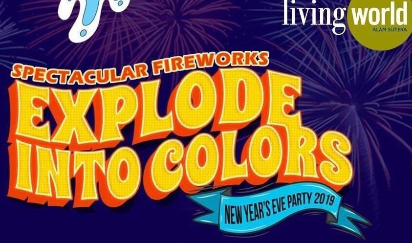 RAN Turut Meriahkan Spectacular Fireworks Explode Into Colors New Years Eve Party 2019