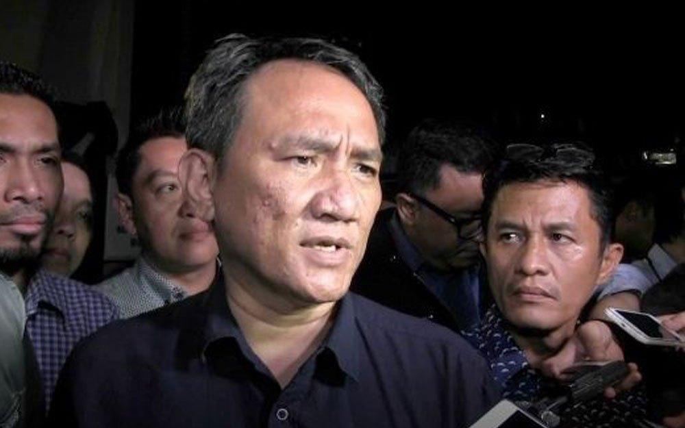 Buntut Cuitan Hoaks Surat Suara Tercoblos, Andi Arief Dipolisikan Timses Jokowi