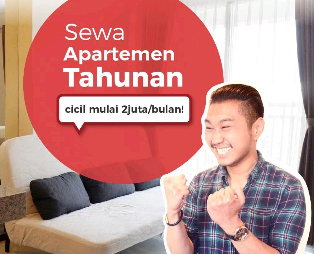 Sewa Apartemen di Travelio, Pembayaran Sewa Bisa Dicicil!