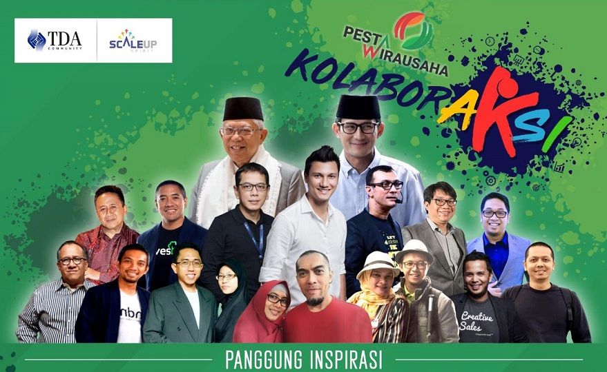 Sharing Inspiratif Bareng Sambil Kulineran Gratis di Pesta Wirausaha 2019 Ancol, Catat Tanggalnya!