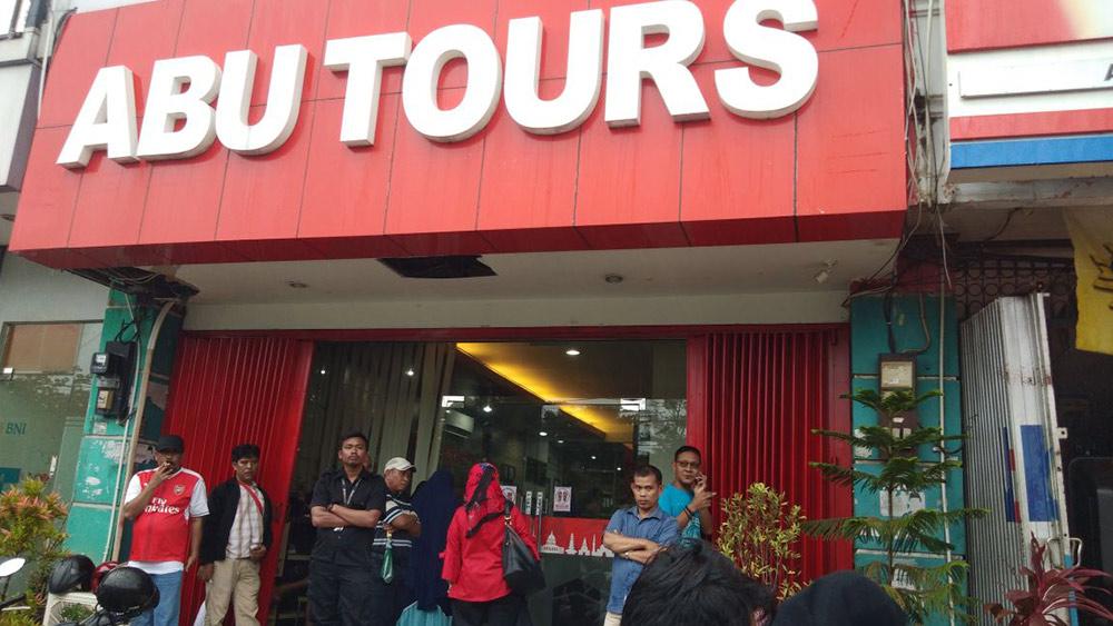 Bos Abu Tours Mengaku Khilaf Saat Bacakan Pledoi