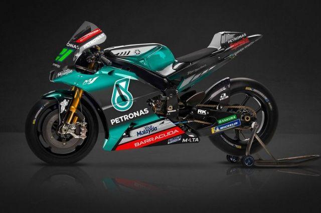 Berikut Tampilan Livery Yamaha Petronas SRT  Pada MotoGP 2019