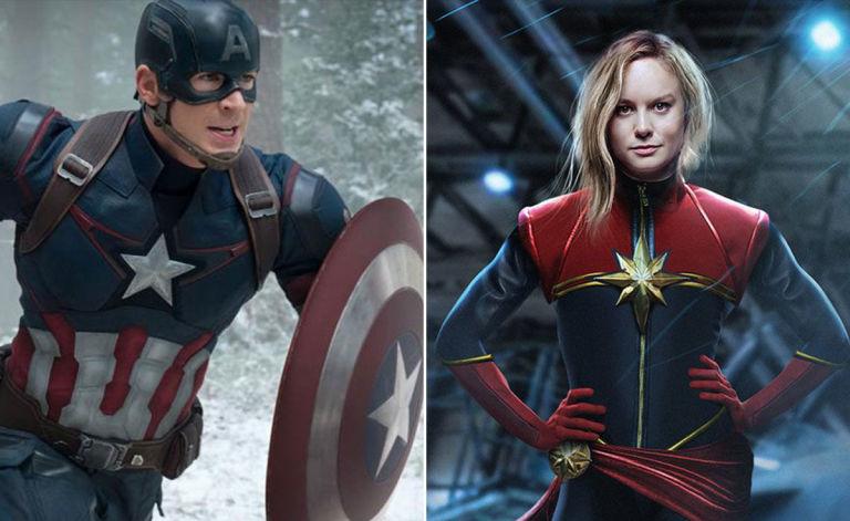Aksi Captain America dan Captain Marvel di 2019 Pastikan Bikin Memukau