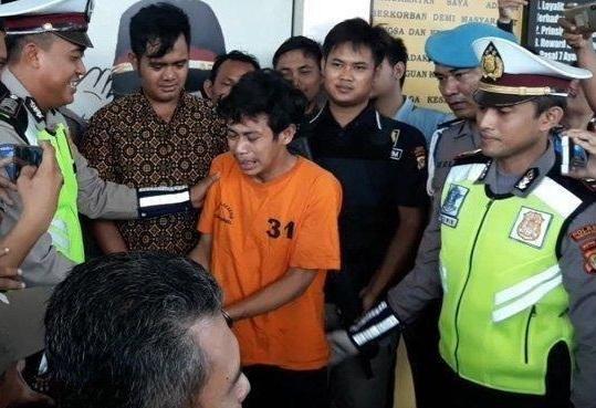 Tidak Terima Ditilang, Adi Si Pembanting Motor Malah Dikenai Pasal Berlapis dan Jadi Tersangka