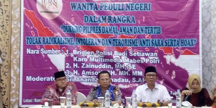 Dukung Pemilu Damai, WPN Gelar Seminar Tangkal Ancaman Jelang Pilpres
