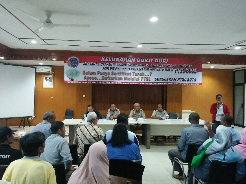 Penerbitan Sertifikat Program PTSL di Jakarta Terganjal Perda, BPN Tunggu Jawaban Gubernur