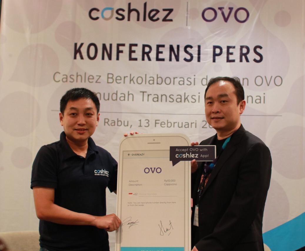 Gandeng OVO, Cashlez Permudah Pelaku Usaha dan Masyarakat Dalam Transaksi Non Tunai
