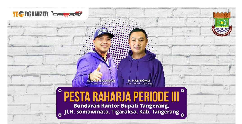 Pesta Rakyat Terbesar di Tangerang Siap Digelar, Catat Tanggalnya!
