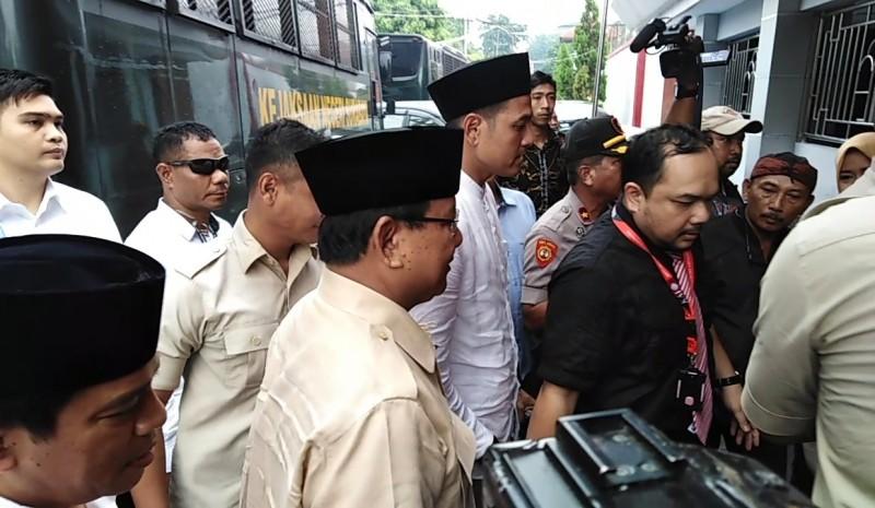 Prabowo Sebut Kasus Ahmad Dhani Merupakan Dendam dan Intimidasi Politik