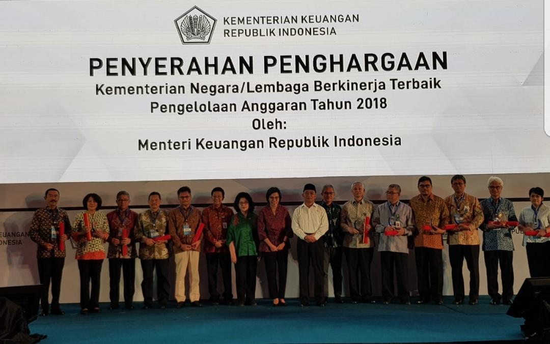 Kominfo Raih Penghargaan Pengelolaan Anggaran Terbaik