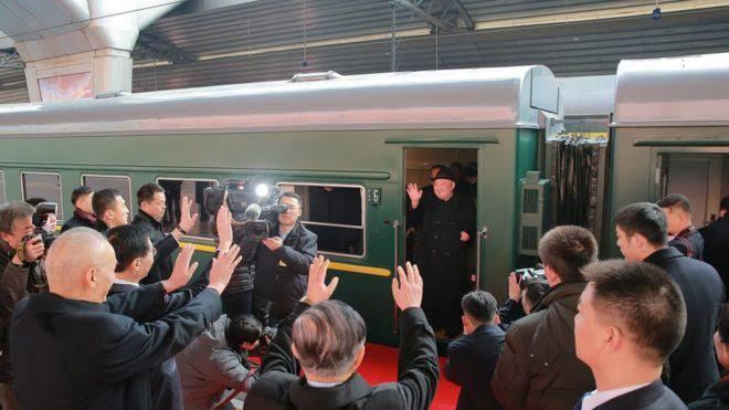 Naik Kereta, Kim Jong Un Berangkat ke Vietnam Temui Trump