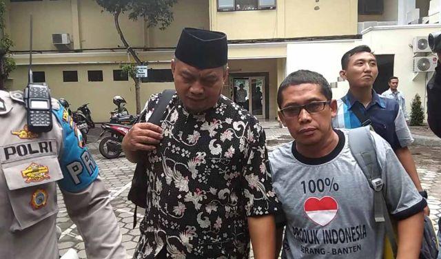 Usai Diperiksa Terkait Kampanye Hitam, Ustaz Supriyanto Diperbolehkan Pulang