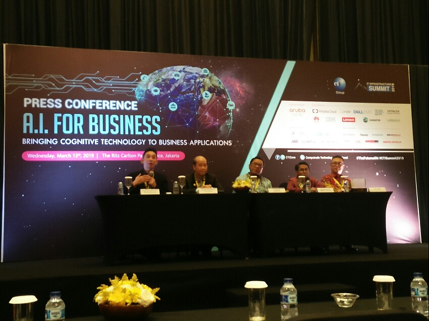 CTI IT Infrastructure Summit  2019 Satukan Professional Bisnis Bahas Artificial Intelligence
