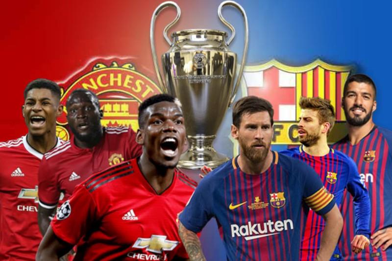 Drawing Perempat Liga Champion, Berikut Statistik Pertemuan Barcelona Kontra MU
