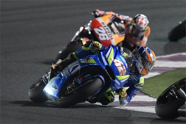 Gagal Naik Podium MotoGP Qatar, Alex Rins Ungkap Kelemahan GSX-RR Miliknya