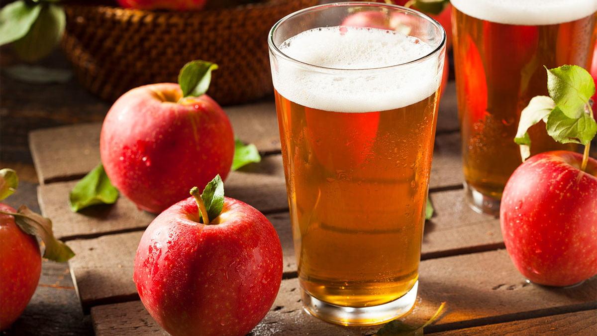 Minum Fermentasi Apel Murni Cara Nikmat Hilangkan Penat