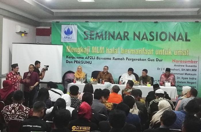 Rekomendasi Haram PBNU Hanya Untuk MLM Bodong dengan Sistem Ponzi dan Money Game