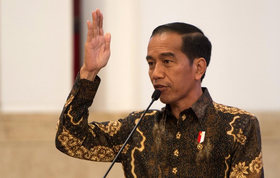 Jokowi : Saya sebenarnya sudah diam 4,5 tahun, Ingat sekali lagi. Akan saya lawan!
