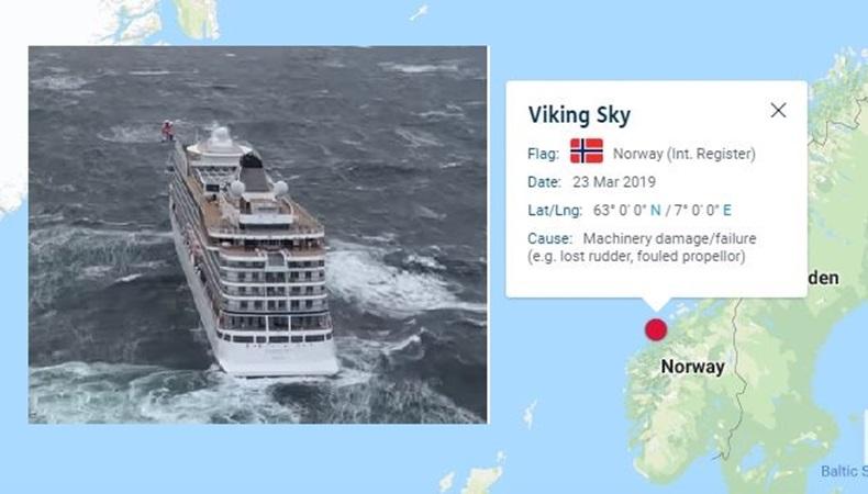 Penyelamatan Dramatis Kapal pesiar dari Badai Hingga Tiba di Pelabuhan Norwegia
