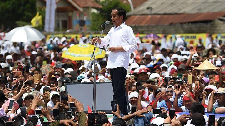Singgung Target Perolehan Suara, Jokowi: Kalo Hitungan Kita Insya Allah 58-62 persen