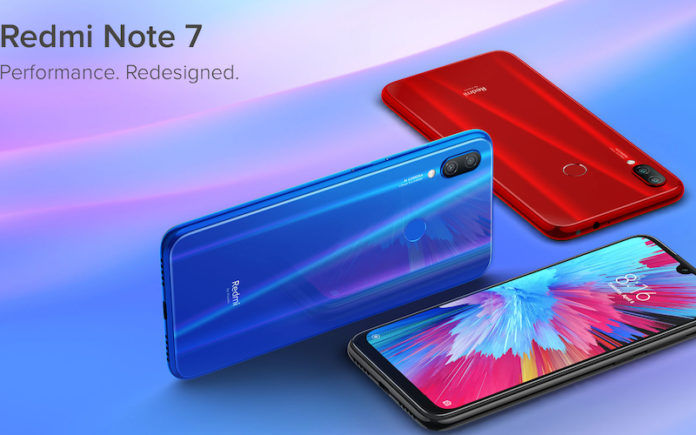 Yuk Intip Spesifikasi Redmi Note 7 yang Tak Sampai Rp 2 Juta