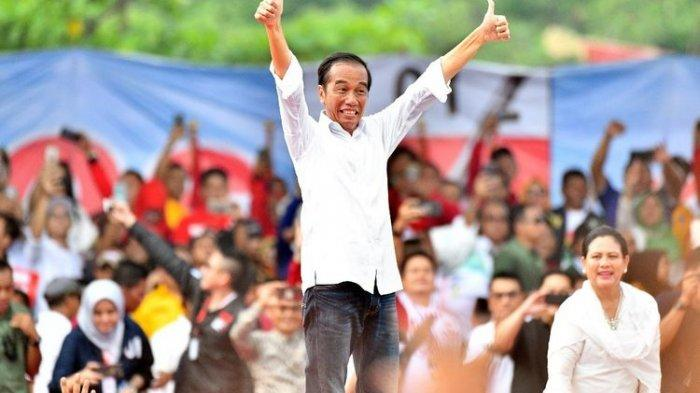 Kampanye Akbar di Riau, Jokowi Ingatkan Coblos yang Baju Putih Bukan yang Jas
