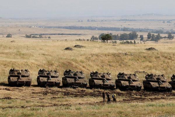 Suriah Serukan Dewan Keamanan PBB Adakan Pertemuan Bahas Golan
