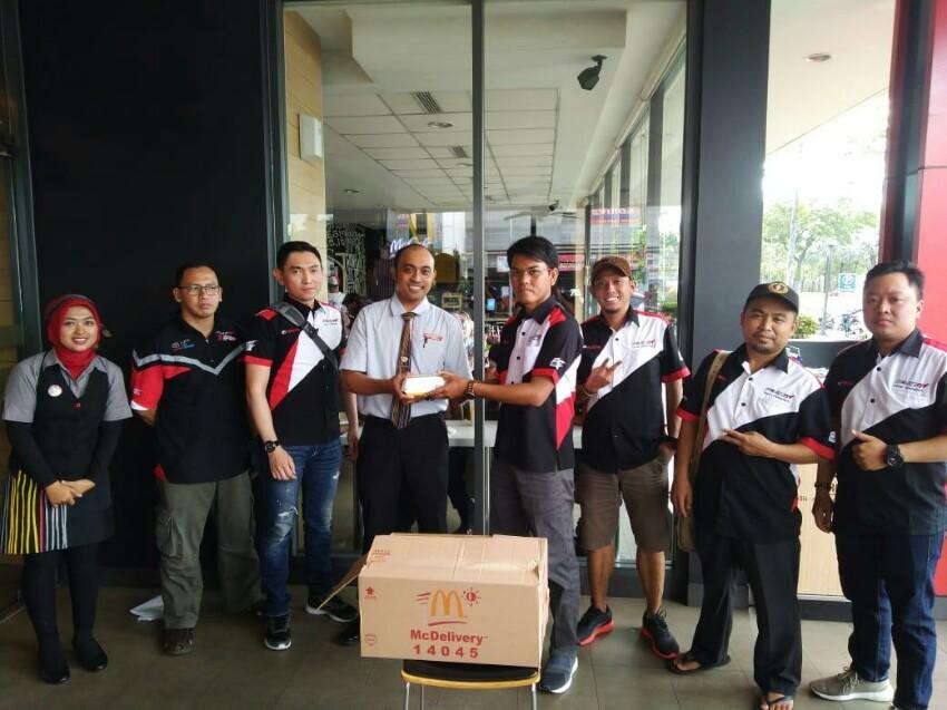 Mengintip Keseruan Kopdar Velozity Bekasi Chapter di McDonald's Jababeka 2 Cikarang