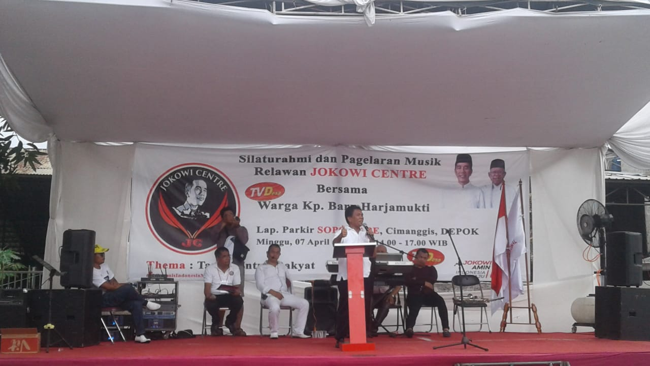 Tepis Tuduhan Kecurangan, Relawan Jokowi Centre: Itu Mengada-ada