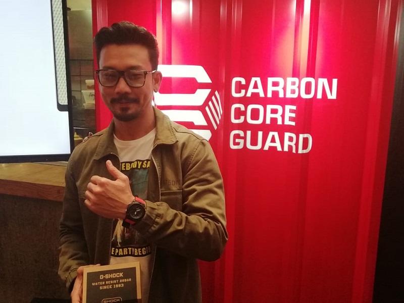 Dipilih Jadi Orang Pertama Pengguna G-SHOCK X CARBON Series, Denny Sumargo : Seneng banget!