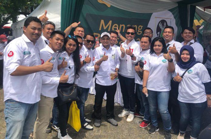 Sejumlah Relawan Pendukung Jokowi di Bogor Gelar Apel Akbar