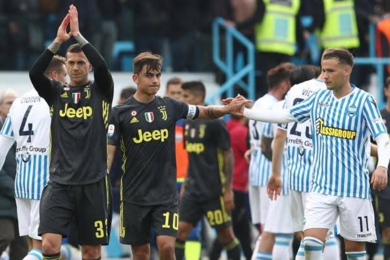 Sergio Floccari Tunda Pesta Scudetto Juventus