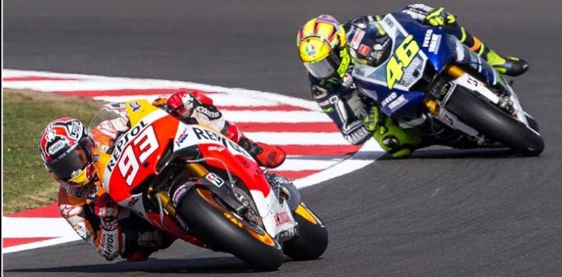 Hasil Kualifikasi MotoGP AS, Marquez Pole Position, Rossi Urutan Kedua