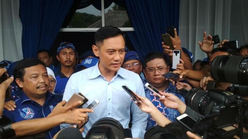 AHY Komentari Pernyataan Prabowo Terkait Kegagalan Pemerintah Sebelumnya di Debat Capres Terakhir