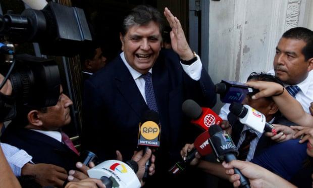 Mantan Presiden Peru Tembak Kepalanya Saat Akan Ditangkap Polisi