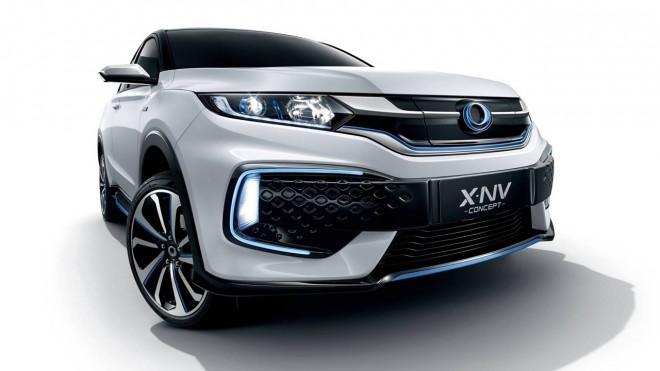 XN-V Mobil Listrik Teranyar HONDA Resmi Diperkenalkan