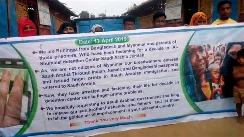 650 Tahanan Rohingya Lakukan Aksi Mogok Makan di Saudi