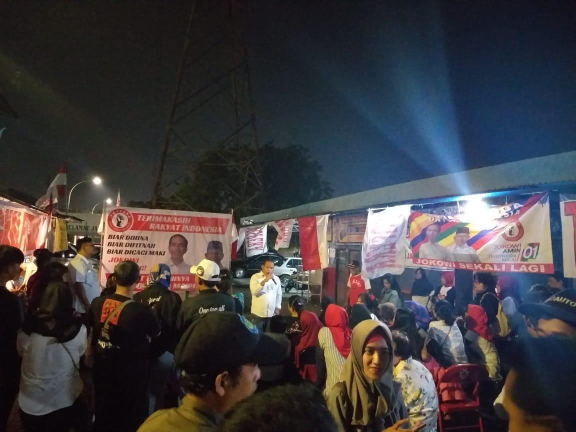 Rakyat Jakarta Antusias Rayakan Kemenangan Jokowi Bersama Pospera