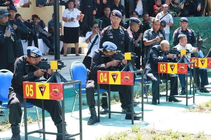 Polda NTT Berangkatkan Ratusan Personel Brimob ke Jakarta