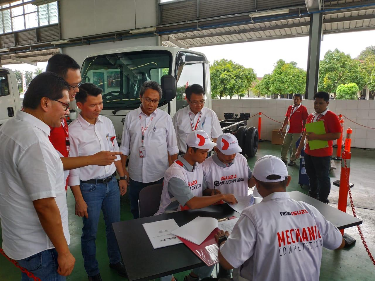 Isuzu Teknisi Skill Kompetisi seluruh Indonesia